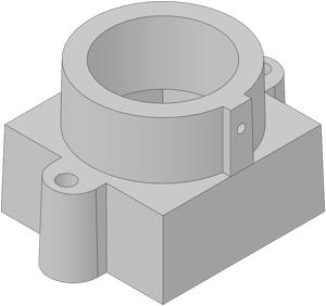 M12 mount installed onto Raspberry Pi camera module - ht0 de
